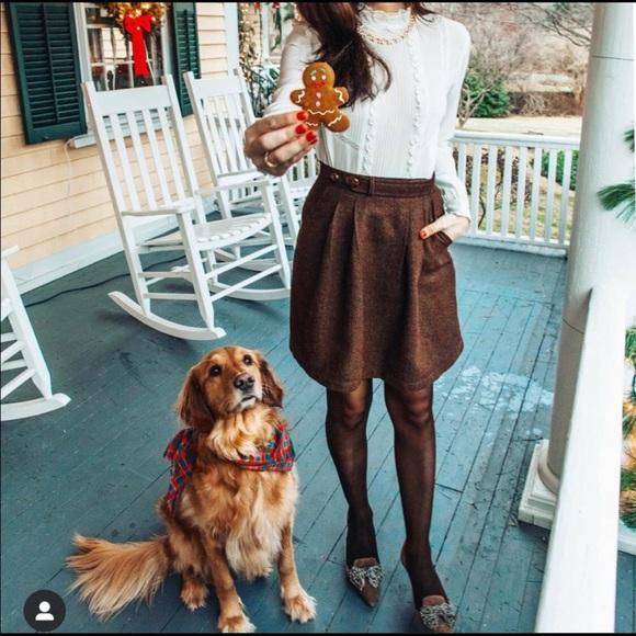 KJP Brown Skirt, Size 2